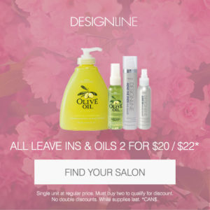 Designline all leave in conditioners and oils 2 for $20