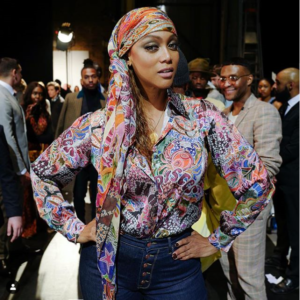 Tyra Banks Tommy Hilfiger Show 2019